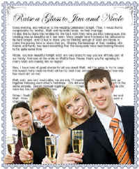 Wedding Toasts: Best Man, Bride, Groom, Father, Speeches